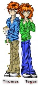 Thomas and Tegan 1