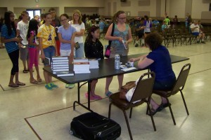 Dover Area Library Signing