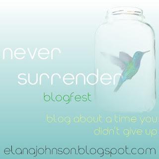 Never Surrender Blogfest