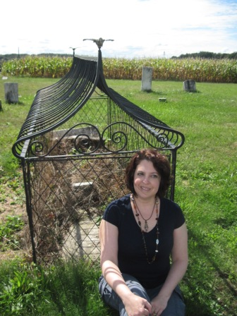 Dianne Salerni, author of The Caged Graves