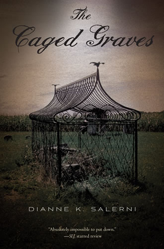 The Caged Graves by author Dianne Salerni
